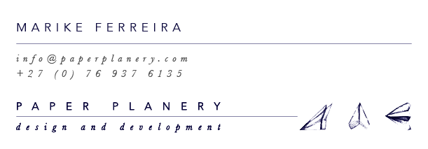 Paper planery_email signature